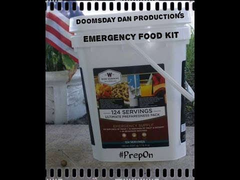 Hurricane prepping Food water dog food gas