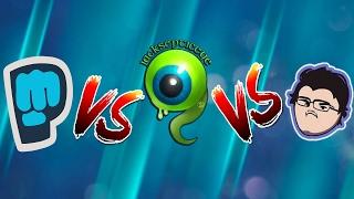 BROFIST (PewDiePie Song) VS ALL THE WAY - Jacksepticeye VS SPACE IS COOL - Markiplier