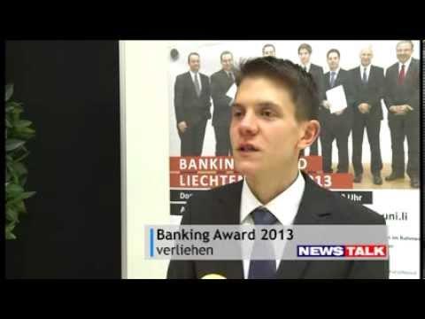 Hintergrund Banking Award 2013 - Universität Liechtenstein