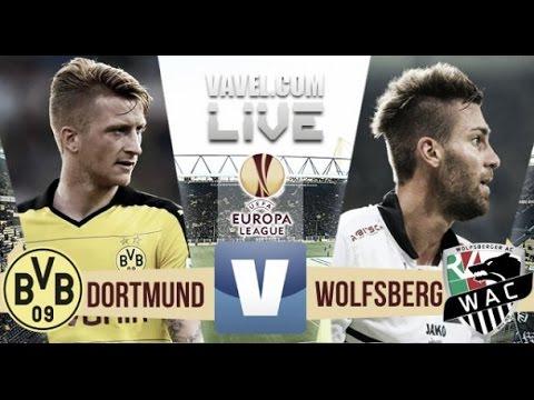 Borussia Dortmund Vs AC Wolfsberger 5 0 Full Match Europa League 06 08 2015