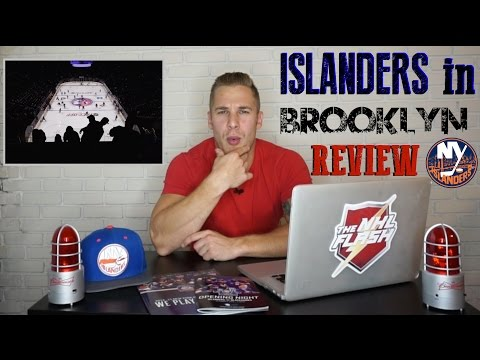 New York Islanders at the Barclays Center - Debut Review