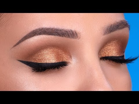 Bronze Smokey Eye Makeup Tutorial thumbnail