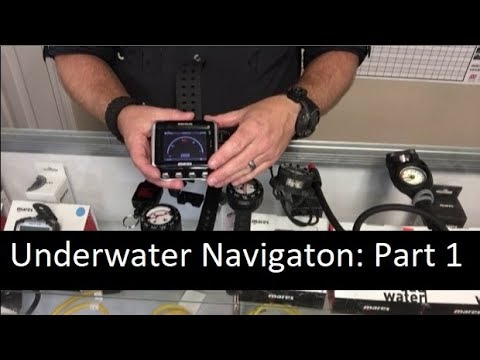 Underwater Navigation Part 1