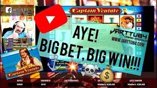 Big Bet!! Captain Venture Slot Gives Big Win!!