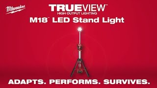 Milwaukee® M18™ TRUEVIEW™ LED Stand Light