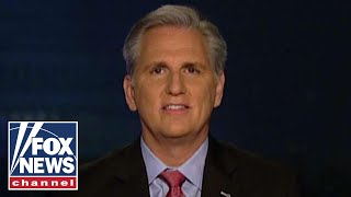 Rep. Kevin McCarthy reacts to Trump's latest comments on fixing the border crisis