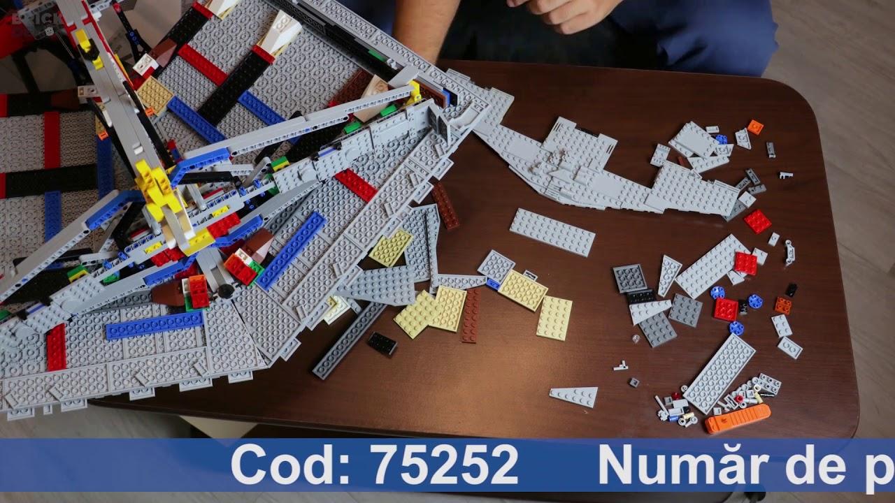 LEGO Star Wars 75252 Imperial Star Destroyer UCS - Speedbuild/Timelapse
