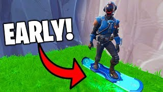 I Got The Unreleased Hoverboard EARLY in Fortnite..