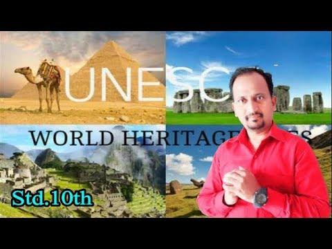 #WorldHeritage #Std10 #EnglishForLearners #WorldHeritageWebsites :NEW SYLLABUS : THIRD LANGUAGE