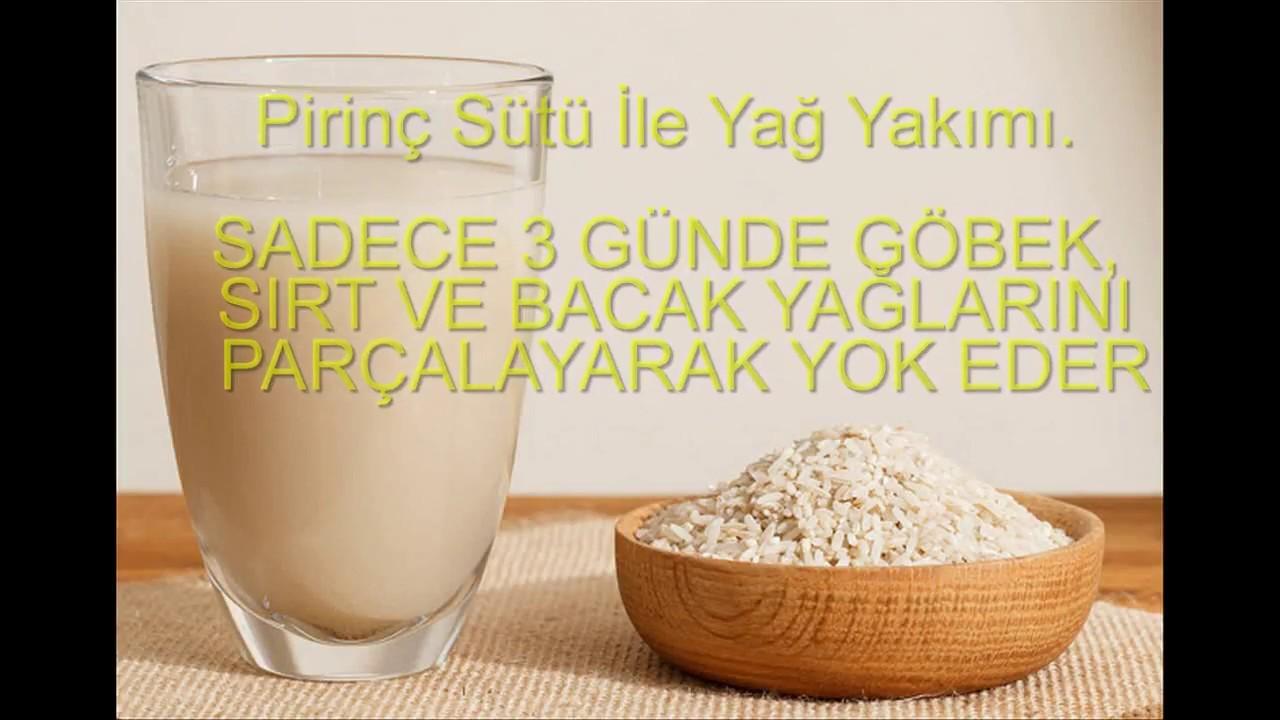 Pirinç sütü nasıl yapılır