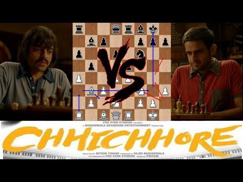 Better than Actual?! Chhichhore (2019) Chess Scene Analysis  