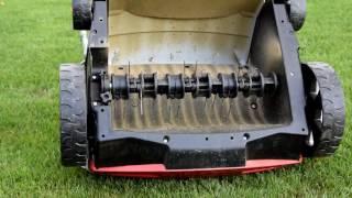 AL-KO Electric Lawn Rake 38 E Comfort Review (1080p 60Fps)