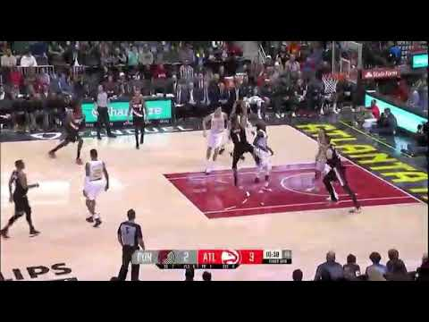 Portland Trail Blazers vs Atlanta Hawks/Highlights/December 30 2017