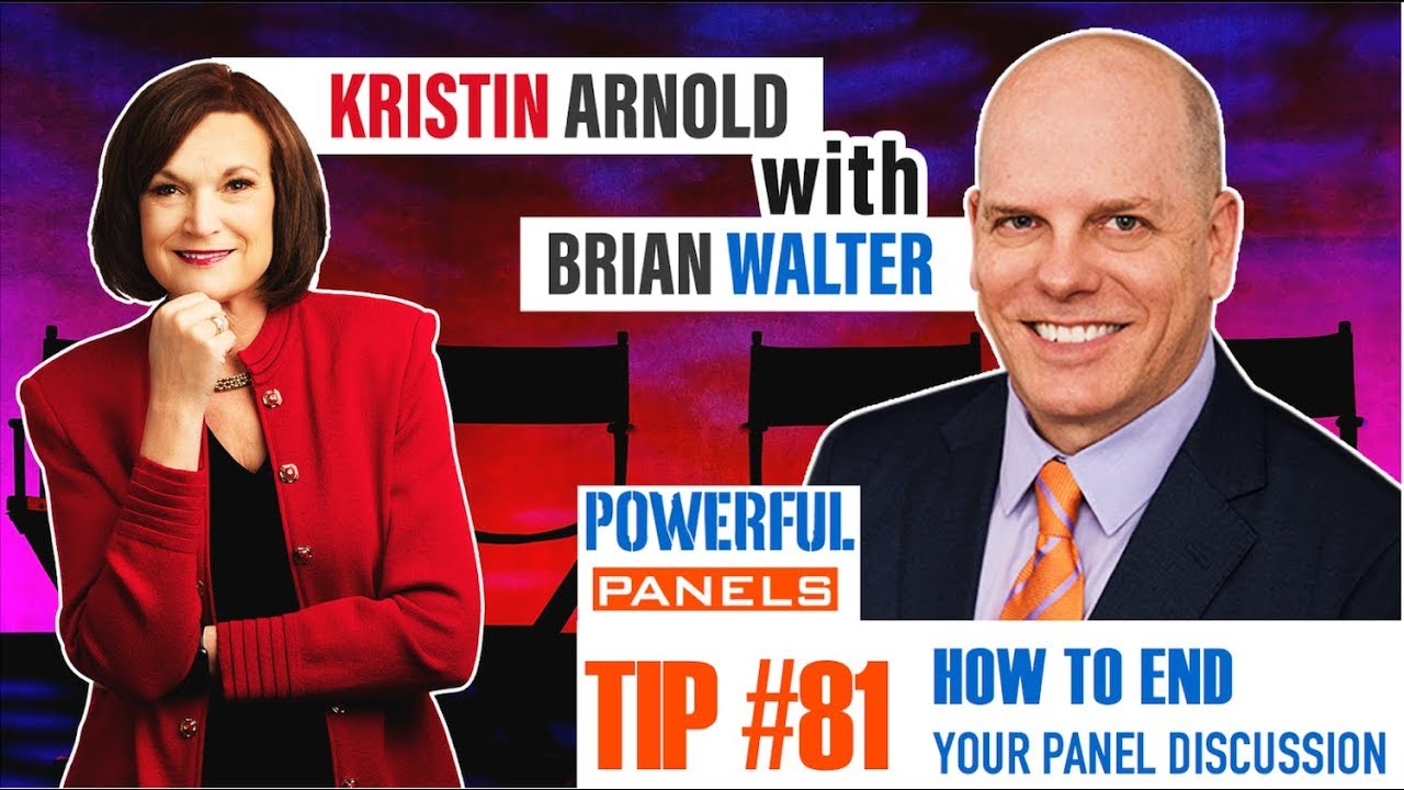 Powerful Panel Discussion Tip #81 with Brian Walter: How ...