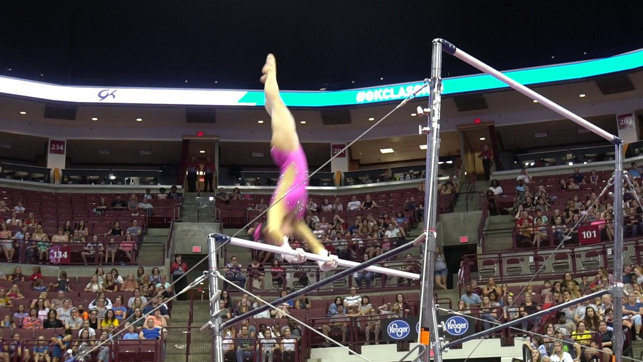 14199f225de1 Kara Eaker - Uneven Bars - 2018 GK U.S. Classic - Senior Competition. USA  Gymnastics
