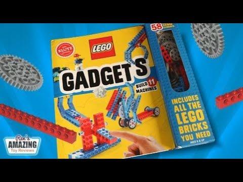 Klutz Lego Gadgets Book Review