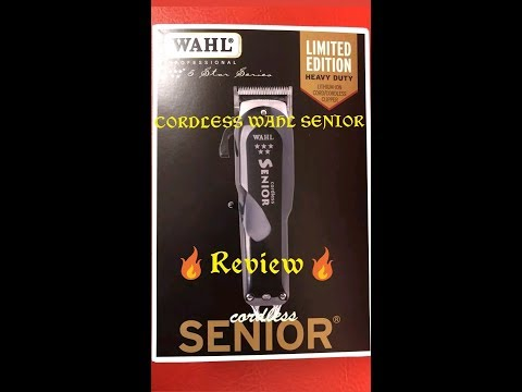 Cordless Wahl 5star senior review after using