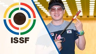 50m Pistol Men Final - 2016 ISSF Rifle, Pistol, Shotgun World Cup in Baku (AZE) thumbnail