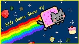 Кошка Мурка на Кошачей вечеринке Питомец Кати  Мультик игра Nyan Cat FLY