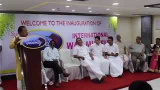 Actor Innocent comedy Speech on Celebritywaxmuseum Inauguration at Cochin Oberon mall