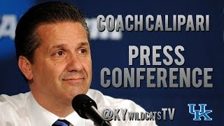 Kentucky Wildcats TV: Coach Calipari Post-Georgia Press Conference