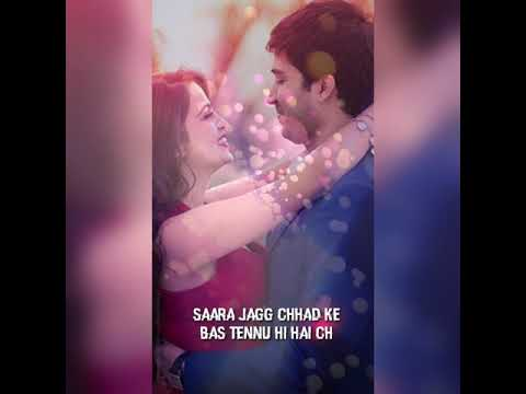 Sara Jag Chadke Bas Tenu Hi Hai Chuniya ...| WhatsApp Status|