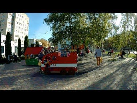 Ставрополь.Идём по улице 50 лет ВЛКСМ.