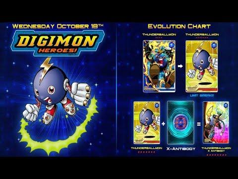Digimon Heroes | Thunderballmon X-Antibody