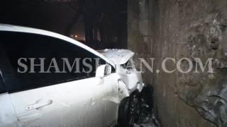 33 ամյա վարորդը Բաղրամյան պողոտայում վրաերթի է ենթարկել հետիոտնին, այնուհետև բախվել պատին