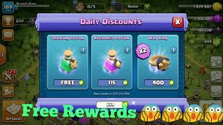 Trader Give Me Free Training Potion Free From Daily Discounts | Wonderful Update From Clash Of Clans