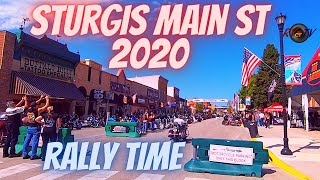 Sturgis 2020 Motorcycle Rally - Downtown Main Street