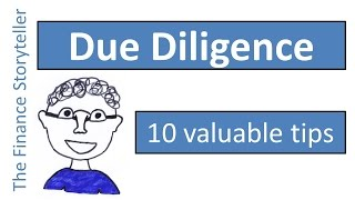 How to perform a due diligence before buying a business