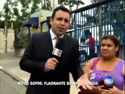 O povo sofre Reinaldo Gottino Rede Record