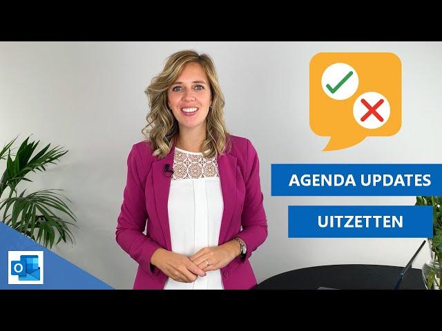 Vergaderverzoeken en antwoorden alleen naar gemachtigden sturen | ⚙ Instelling Outlook Agenda