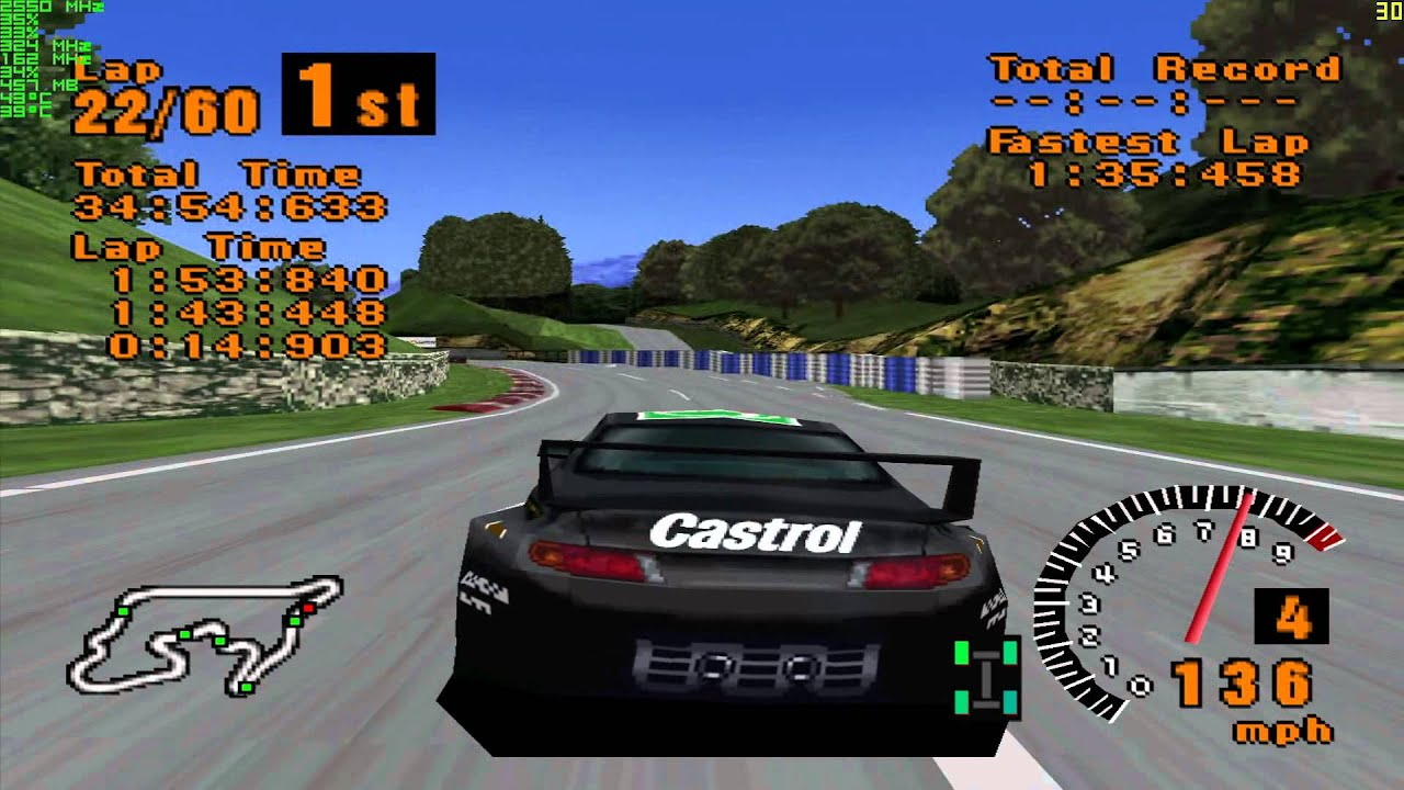 Gran Turismo 1 Walkthrough PS1 - Part 41 - Grand Valley 300 km Endurance - Full HD (1080p) - YouTube
