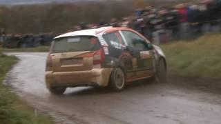 Rallye-MAD.com Closeups: Weijs Jr. almost crashes! [HD]