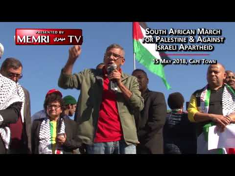 South African Politician Tony Ehrenreich at BDS March Calls to Expel Israeli Ambassador