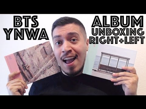 BTS WINGS You Never Walk Alone ALBUM UNBOXING