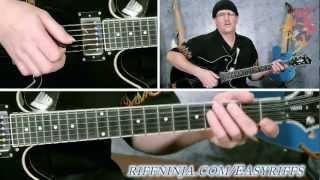 Cool Blues Guitar Riff Lesson (Intermediate)