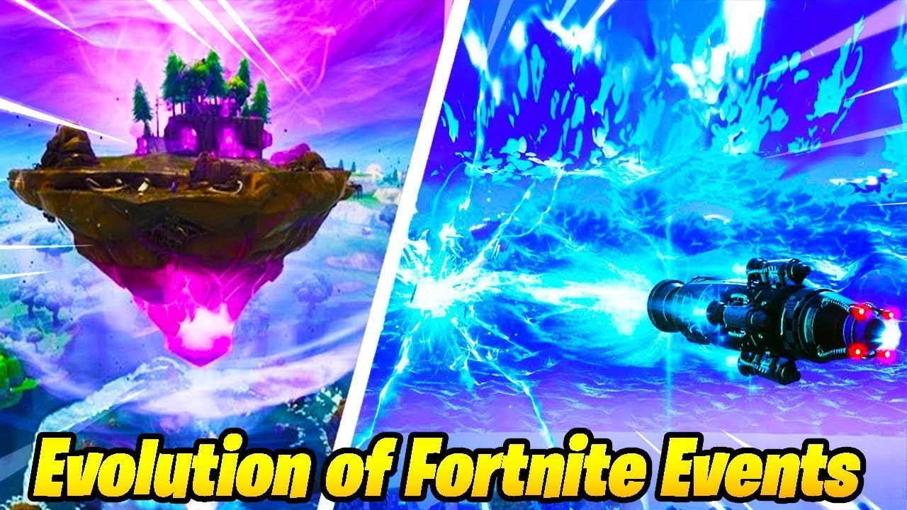 The Evolution of Fortnite Events..!! - YouTube