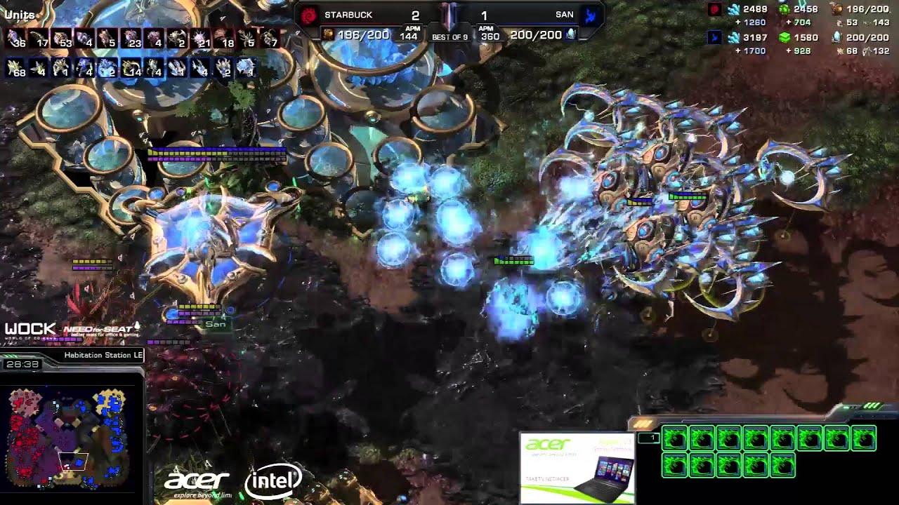 San vs. Starbuck - MouseSports vs. FlashWolves - Game 4 - StarCraft 2