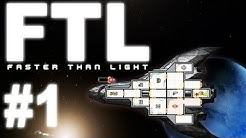 FTL (Faster Than Light) Gameplay #1 - Let's Play FTL - German
