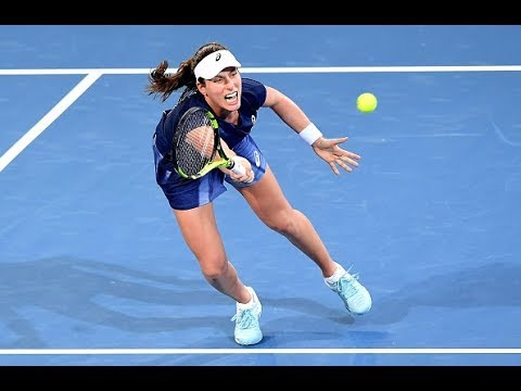 2018 Brisbane International Second Round | Johanna Konta vs. Ajla Tomljanovic | WTA Highlights