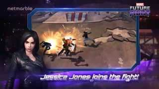 Play as Jessica Jones in Marvel Future Fight Now