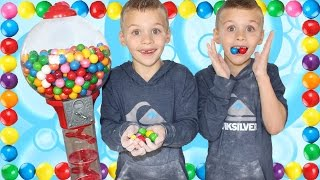 Bubblegum Making Challenge || DIY Dubble Bubble Gumballs Giant Gumball Machine thumbnail
