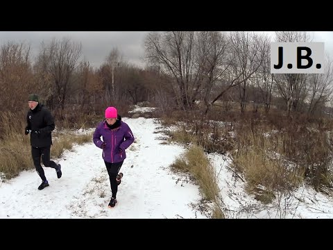 Entire GoPro winter run 4,8 km (3 miles) in 28 min, Moscow