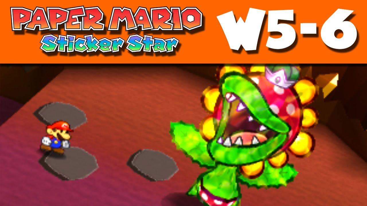 paper mario sticker star - world 5-6