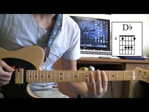Sugar by Maroon 5 - Guitar Lesson (NO CAPO)