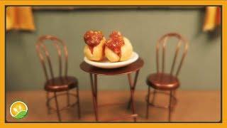 Làm bánh Hot Dog tí hon - Make Hot Dog cakes