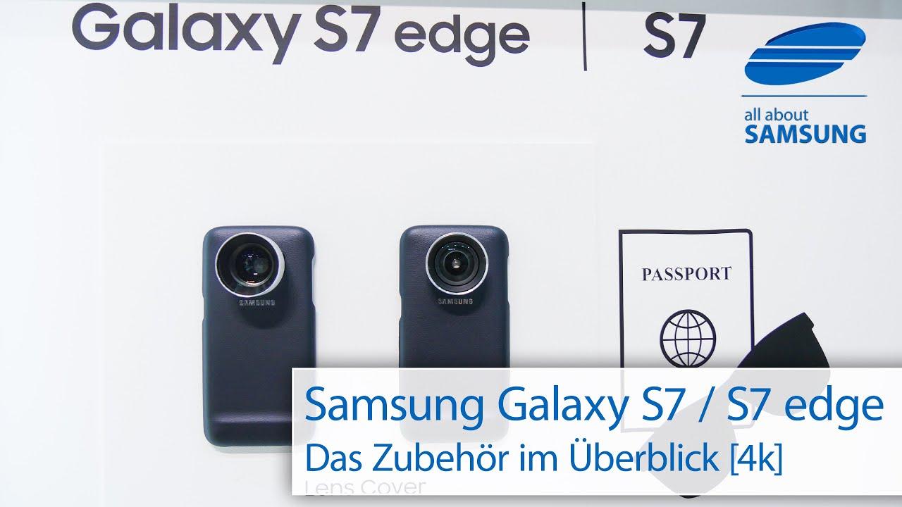 Samsung galaxy s7 edge unboxing deutsch 4k youtube - Samsung Galaxy S7 Und Galaxy S7 Edge Zubeh R Hands On 4k